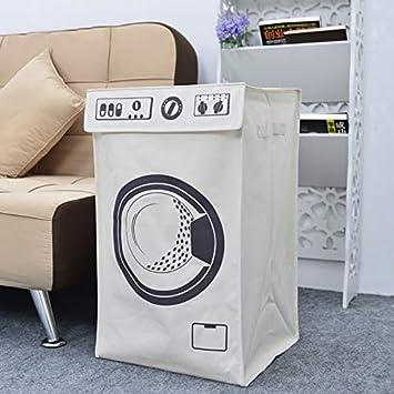 Amazon.com: Cestas de almacenamiento plegables, cesta para ...