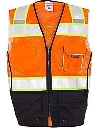 ML Kishigo 1515/1516 Black Series ANSI Class 2 Safety Vest