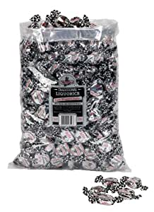 WALKERS NONSUCH Liquorice Toffees Bulk Bags 2.5 kg