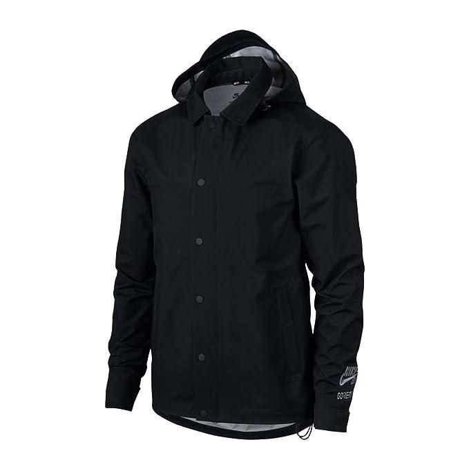 509e0c6eaa434e Nike Men s Jacket Black Black - Black - X-Large  Amazon.co.uk  Clothing