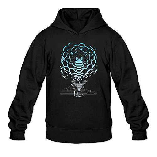 Tommery Men's MUSE Design Long Sleeve Sweatshirts Hoodie
