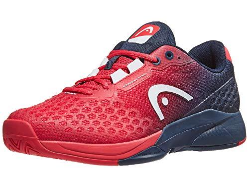 HEAD Men's Revolt Pro 3.0 Tennis Shoes, Red/Dark Blue (9.0 US) ()