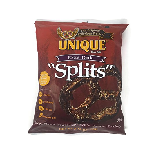 - Unique Pretzels Individual Snack Packs, 2.12 Oz. Bags (Set of 8) (Extra Dark)