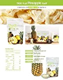 Fruit Dried Pineapple Chips(15 gr/pack x 5 packs)