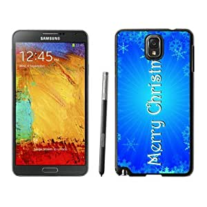 Customization Merry Christmas Black Samsung Galaxy Note 3 Case 85