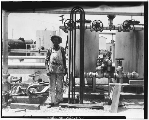 Photo: Crosscut Steam Plant,Tempe,Maricopa County,Arizona,AZ,HABS,Mill - Az Mills Tempe
