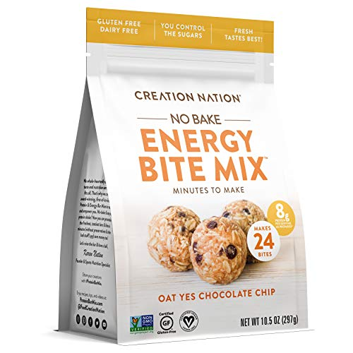 ENERGY BITE MIX ~ No-bake, Minutes to Make! Makes 24 ENERGY BALLS & BITES.