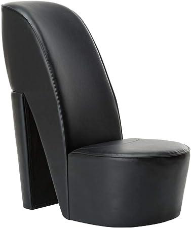 vidaXL Chaise en Forme de Chaussure à Talon Haut Siège