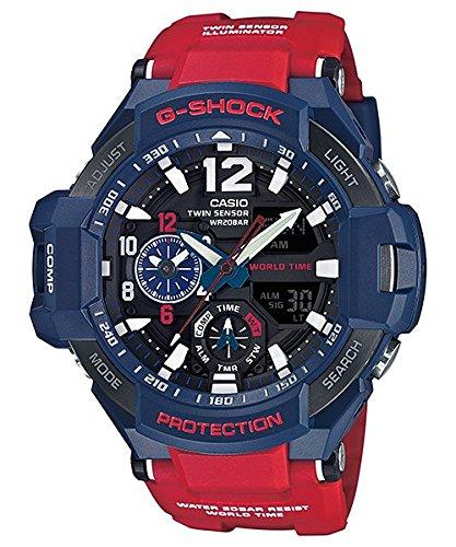 G Shock GA 1100 Gravitymaster Stylish Watch   Blue One Size