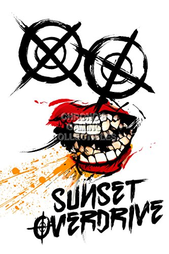 CGC Huge Poster - Sunset Overdrive XBOX ONE - SUN006 )
