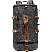 CoolBELL Sport Backpack Convertible Bag Shoulder Bag Briefcase 45L Travel Knapsack Light-weight Water-resistant Backpack Sport Duffel Fits 17.3 Inch Laptop For Men/Women (Black)