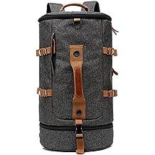 CoolBELL Sport Backpack Convertible Bag Shoulder Bag Briefcase 45L Travel Knapsack Light-weight Water-resistant Backpack Sport Duffel Fits 17.3 Inch Laptop For Men / Women (Black)