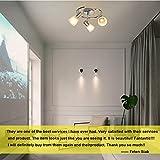 DLLT Modern Led Track Lighting Fixtures, 3 Light