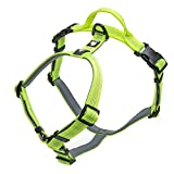 Pettom Dog Harness No-Pull Reflective Easy Walking Pet Vest Harness with Padded Handle Outdoor Adventure for Small Medium Large Dogs