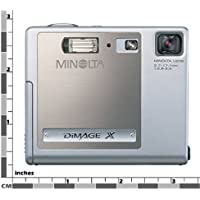Minolta Dimage X 2MP Digital Camera with 3x Optical Zoom Basic Facts Review Image
