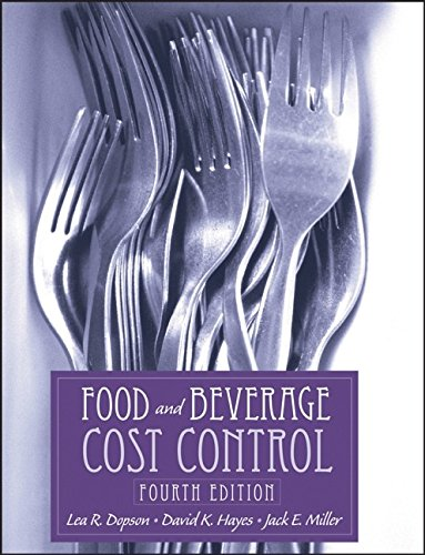food and beverage cost control - 8