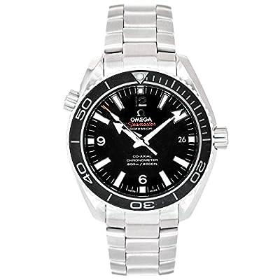 Omega Men's 232.30.42.21.01.001 Seamaster Planet Ocean Black Dial Watch