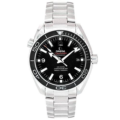 omega mens black watch - 5