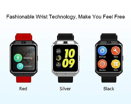 Amazon.com: IDS Home Microwear H5 4G Smartwatch Phone 1.54 ...
