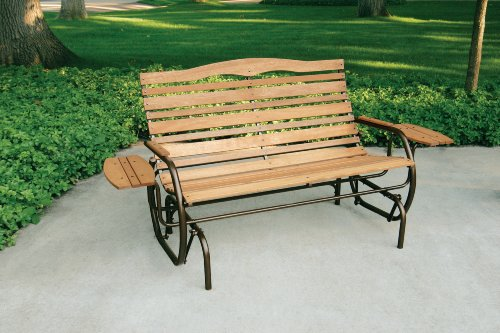 Jack Post Cg 12z Country Garden Double Glider With Trays