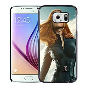 New Personalized Custom Designed For Samsung Galaxy S6 Phone Case For Black Widow In Captain America The Winter Soldier Phone Case Cover