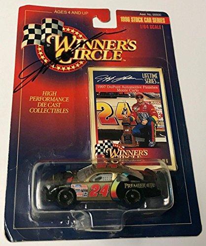1996 Winners Circle Jeff Gordon Dupont Chroma Premier Signed 1/64 Diecast Car - Autographed Diecast Cars ()