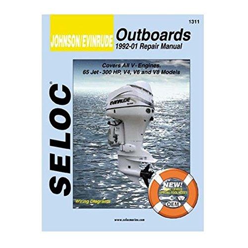 Johnson Evinrude Outboard, V4, V6, & V8, 1992-2001 Repair (Evinrude Outboard Jet)