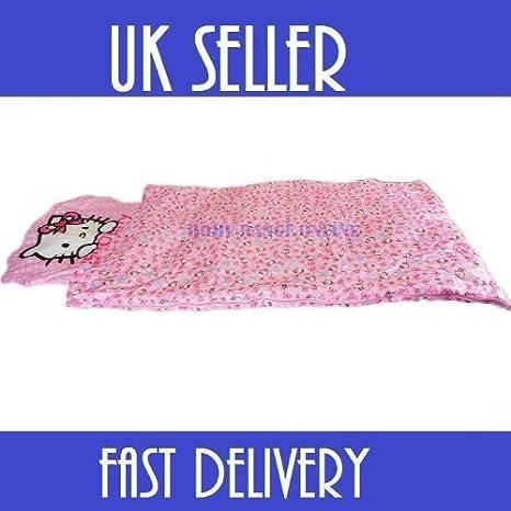 Sanrio - Saco de dormir con diseño de Hello Kitty: Amazon.es: Juguetes y juegos