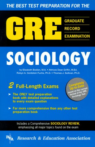 Graduate Record Examination: Gre Sociology (GRE Test)