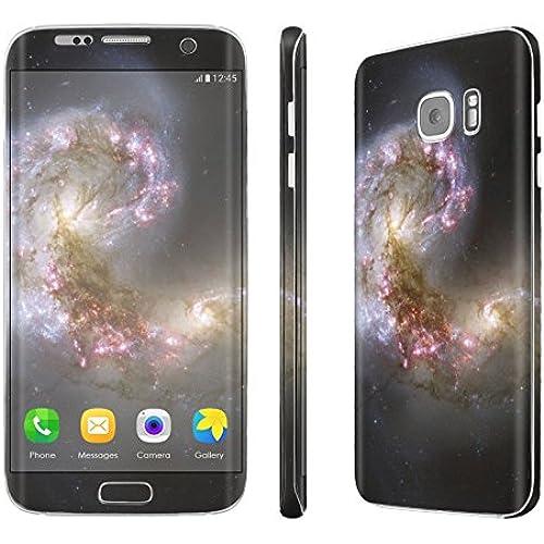 Galaxy [S7 Edge] Skin [NakedShield] Scratch Guard Vinyl Skin Decal [Full Body Edge] [Matching WallPaper] - [Space Beginning] for Samsung Galaxy Sales