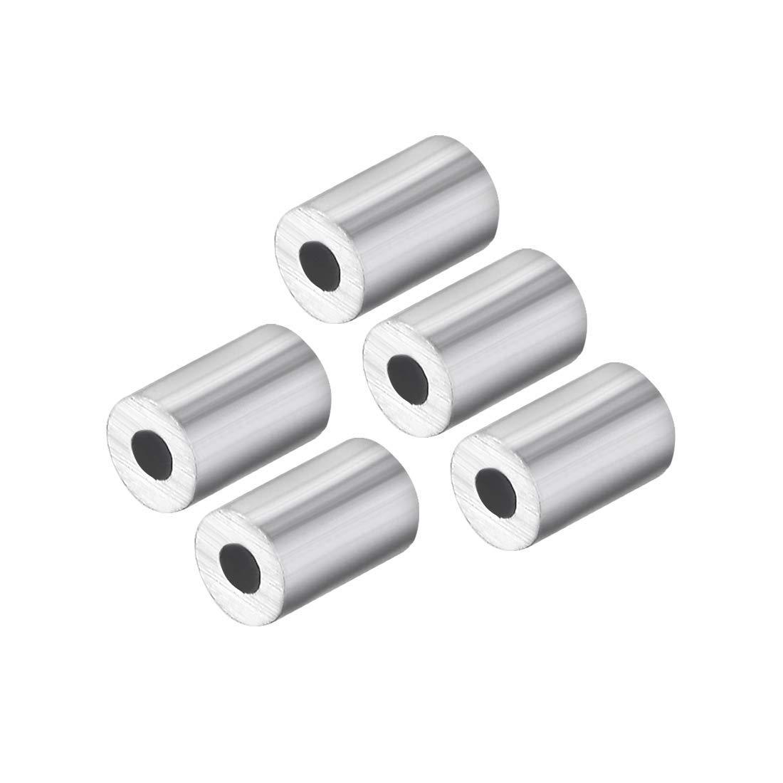 Amazon.com: ZCHXD M1 Aluminum Sleeve Single Tube Crimp 1mm(3 ...