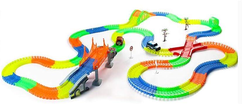 Pistas Del Tren Upgraded Luminoso Track Racer Brillan En La ...