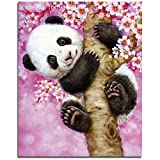 Adarl 5D DIY Diamond Painting Rhinestone Pictures Of Crystals Embroidery Kits Arts, Crafts & Sewing Cross Stitch Panda