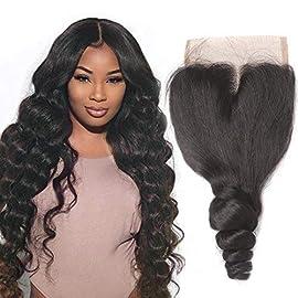 Loose Wave 3/4 Bundles Peruvian Virgin Hair 100% Unprocessed Weave Human Hair Bundles 300g By Yuzhu Hair