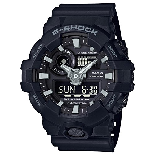 Casio-Mens-G-SHOCK-Quartz-Resin-Casual-Watch-ColorBlack-Model-GA-700-1BCR