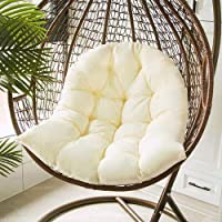 Hanging Swing Basket Seat Cushion, 35.43x47.24in Thickeed Hanging Egg Hammock Chair Cushion Soft Large Size Hanging Chair Pad for Garden Swing Seat, Hanging Egg Chair, Hanging Basket Seat