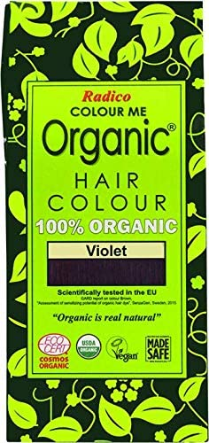 Imagen deradico Colour Me Organic Planta Color del pelo púrpura (bio, Vegano), natural Maquillaje) púrpura