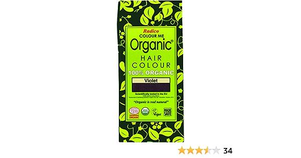 Radico Colour Me - Color de pelo a base de hierbas orgánicas - Púrpura - 100 g
