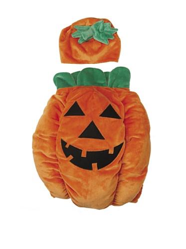 Zack & Zoey Pumpkin Pooch Dog Costume, Small, Orange