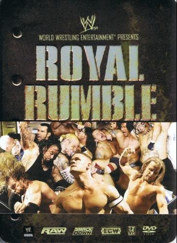 WWE Royal Rumble 2008 Limited Edition DVD with Collectible Tin (Wwe Tin Dvd)