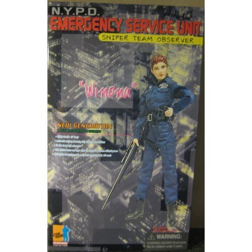 1/6 NYPD Emergency Service Unit Sniper Team Observer