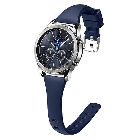 Yanhonin - Pulsera para Samsung Gear S3 Frontier de Silicona ...