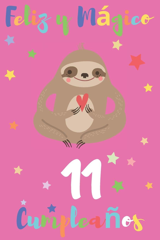 Amazon.com: Feliz y Mágico 11 Cumpleaños: Regalo para Niños ...