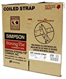 Simpson Strong Tie Simpson Strong-Tie CS20 Coiled Strap