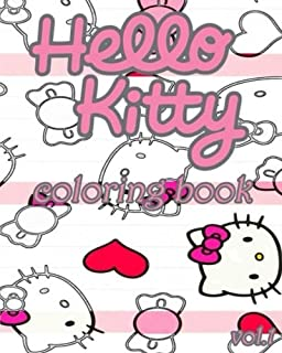 Hello Kitty Coloring Book VoL1 Stress Relieving