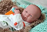 My Little Baby Boy Anatomically Correct Real Soft Vinyl Washable Berenguer Realistic 14'' Preemie Life Like Reborn Pacifier Doll