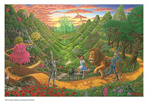 Wizard Of Oz Poster by Tom Masse 32 x 22in ()