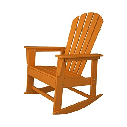 Magnificent Polywood South Beach Adirondack Rocking Chair Pdpeps Interior Chair Design Pdpepsorg