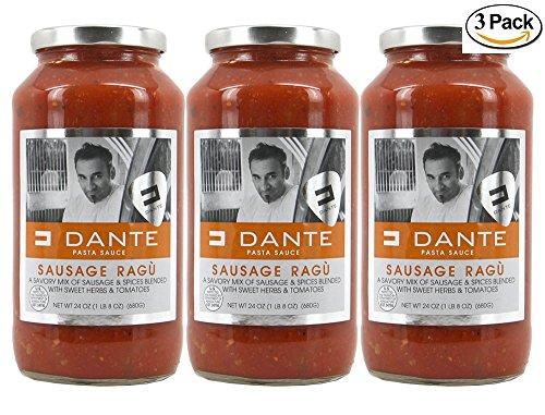 Dante Simple Sausage Ragu 24 oz (3 Pack)