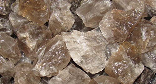 Zentron Crystal Collection: 1/2 Pound Smoky Quartz in Velvet Bag Large Natural Rough Bulk Raw Stones for Tumbling, Wire Wrapping, Polishing, Wicca and - Cab Sunglasses 9